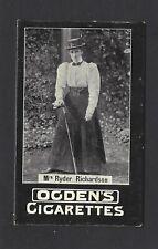 OGDENS (TABS) - GENERAL INTEREST (97-2, GOLF) - MRS RYDER RICHARDSON