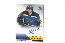 Robby Fabbri  2015-16 Sp Authentic Future Watch RC Autograph /999