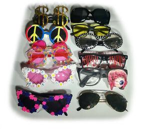 Verschiedene Karneval Brillen Fasching Glasses, Party, Spaß, Kostümierung,