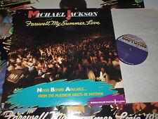 LP/MICHAEL JACKSON/FAREWELL MY SUMMER LOVE/+ POSTER/Motown 6101ML