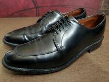 Allen Edmonds Delray Black Leather Split Toe Oxford Dress Shoes 8.5 D (a18