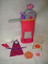 Barbie Furniture Mattel I Can Be Pizza Chef Accessories
