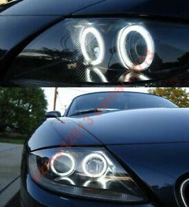 RGB halo rings kit for BMW Z4 E85 E86 03-08 headlight Demon Flash angel eye DRL