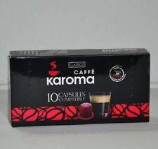 50 Italian Capsules Compatible Nespresso Machines!.(Classico Strong! 2-3 Day