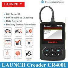 Automotive Launch X431 CR4001 OBD2 EOBD Diagnostic Scanner Code Reader Scan Tool