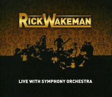 Rick Wakeman - Live with Symphony Orchestra [New CD] Argentina - Import