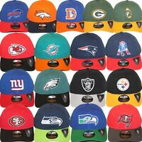 New Era NFL Core Classic 920 One Size Adjustable Team Dad Hat Cap Team Colors