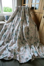 Bespoke John Lewis Romo Wisteria Linen Large Interlined Curtains