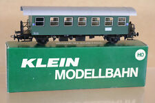 KLEIN Modellbahn MESSEMODELL 89 Obb öbb Verde LOCAL pasajeros Coach 39061 Ni