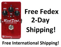 New Keeley Red Dirt Overdrive Guitar Effects Pedal