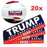 20Pcs Donald Trump President 2020 KEEP AMERICA GREAT Bumper Sticker Car Stickers