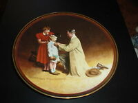 *NORMAN ROCKWELL (READY FOR THE WORLD) LTD. EDITION FINE CHINA COLLECTOR PLATE