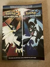 Pokemon Ultra Sun / Ultra Moon Official Strategy Guide - No Map