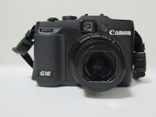 Canon PowerShot G16 12.1MP Digital Camera - Black Used