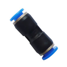 Air Pneumatic Push in Connect Fitting 10 mm OD Equal Straight Union Connector