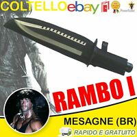 Coltello Rambo 1 Messer FIRST BLOOD PART I Bowie Hunting Knife Machete Replica