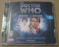 Doctor Who - Smoke and Mirrors Audio Book Cd Janet Fielding Tim Beckman 5TH MINT