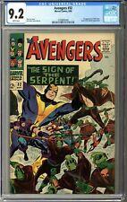 Avengers #32 CGC 9.2