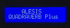 ALESIS LCD DISPLAY SCREEN - QUADRAVERB, QUAD PLUS, QUAD GT - BLUE