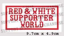 SUPPORT 81 KENT HELLS ANGELS ENGLAND Large Glossy World Sticker BIG RED MACHINE