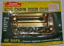 Brass Chain Door Guard Lock