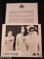 THE MEAT PUPPETS 'NO JOKE!' 1995 PRESS KIT—PHOTO