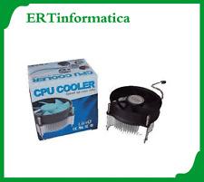 DISSIPATORE CON VENTOLA CPU SOCKET SKT 775 CPU INTEL CORE P4 + SPED. TRACCIABILE