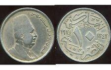 EGYPTE  10 milliemes  1342-1924