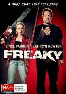Freaky (DVD), NEW SEALED AUSTRALIAN RELEASE REGION 4 lot 150