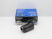 PANASONIC HDC-SD80 CAMCORDER BOXED SD / SDHC CARD HD DIGITAL HIGH DEFINITION