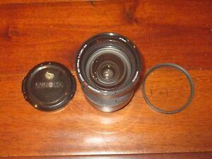 Minolta Maxxum 28-135mm F4-4.5 AF Sony A Mount Macro Lens W Cap & Filter JAPAN