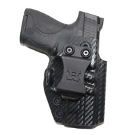 Premium IWB Kydex Holster w Soft Inner Lining for Smith & Wesson M&P Shield 9/40