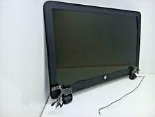 "New listing Hp 15-f233wm L0T33Ua 15.6"" Genuine Laptop Lcd Screen + Hinges Bezel Assembly x1"