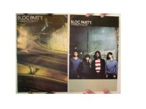 Bloc Party Poster A Weekend In The City Two Sided