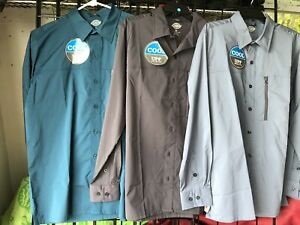 NWT Mens Dickies UPF Cool Performance 4 Way Flex Long Sleeve You Pick SIZE