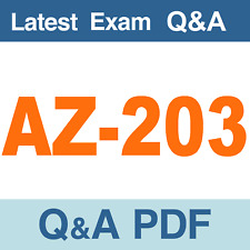 AZ-203 Real Exam Questions & Answers - PDF