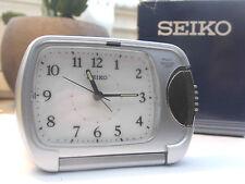 SEIKO - WECKER -  REISEUHR -  REISEWECKER -  ALARM CLOCK TOP (UVP 28.-)