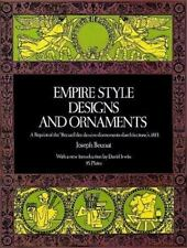 Empire Style Designs and Ornaments by Joseph Beunat (1974 Softcover)