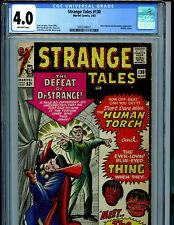 Strange Tales #130 CGC 4.0 1965 Marvel Comics Dr Strange Beatles K30