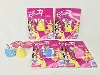 Disney Princess Fun Retired Keychains - Lot of 6