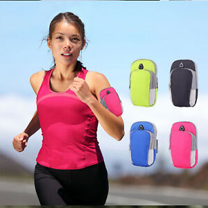 Universal Jogging Running GYM Sport Armband Holder Arm Strap Pouch Case Arm Bag