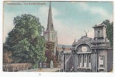 London; Wimbledon, The Parish Church PPC 1905 PMK, To Violet Murphy, Liverpool