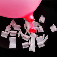 100Pcs Balloons Sealing Clip Clamps Buttons Wedding Party Decor Supplies Helpful