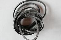 Lederriemen - Lederband - Lederschnur  - ca. 180 cm schwarz
