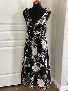 Lucky Brand Floral Dress Medium #F3