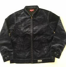 SUPREME VELVETEEN WORK JACKET LARGE