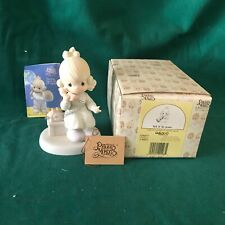 """New ListingPrecious Moments 1989 """"521477"""" """"Tell It To Jesus"""" New In Box With Tags"""