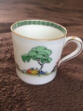 """PARAGON """"CHINESE GARDEN""""  VINTAGE COFFEE CUP"""
