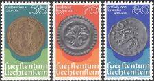 Liechtenstein 1997 MONETE/SOLDI/valuta/COMMERCE/Business/STORIA 3v Set n43796