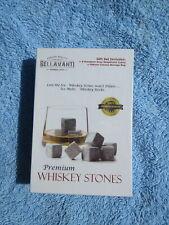 New listing Bellavanti Premium Whiskey Stones Gift Set - New in the Sealed Box
